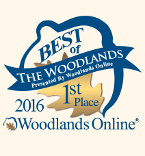 Winner of the 2013 Best of The Woodlands