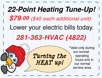 22-Point Heating Tune-Up - $59.95