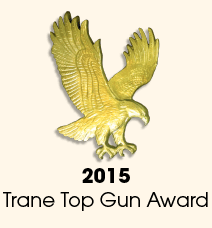 Winner of the 2015 Trane Top Gun Award