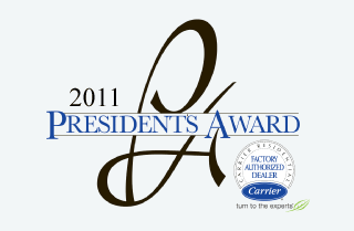 2011 Carrier President's Award