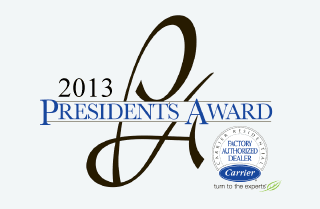 2013 Carrier President's Award