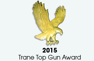 2015 Trane Top Gun Award
